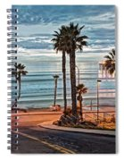 Pacific And 1st Street Spiral Notebook
