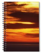 Pacific Backdrop  Spiral Notebook