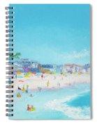 Pacific Beach In San Diego Spiral Notebook