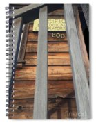 Pacific Biological Laboratories 800 Cannery Row, Monterey 2016 Spiral Notebook