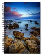 Pacific Blue At Pelican Point Spiral Notebook