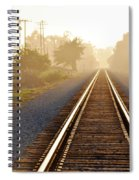 Pacific Coast Starlight Railroad Spiral Notebook