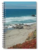 Pacific Coast View IIi Spiral Notebook
