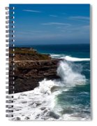 Pacific Coastline Spiral Notebook
