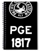 Pacific Great Eastern - 1817 Spiral Notebook