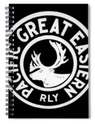 Pacific Great Eastern Spiral Notebook