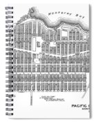 Pacific Grove May 7 1887 Spiral Notebook