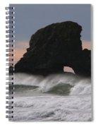 Pacific Northwest Waves Spiral Notebook
