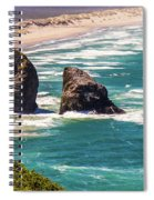 Pacific Ocean Shore Spiral Notebook