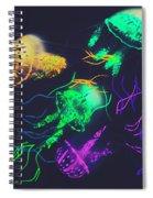 Pacific Pop-art Spiral Notebook