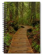 Pacific Rim National Park Boardwalk Spiral Notebook