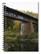 Pack River Bridge Spiral Notebook