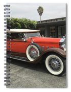 Packard Spiral Notebook