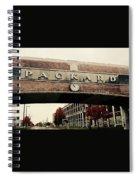 Packard Plant Spiral Notebook