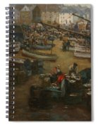 Packing Fish   St Ives Spiral Notebook