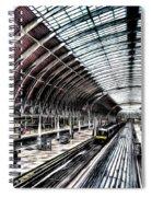 Paddington Station London Sketch Spiral Notebook