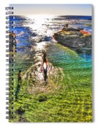 Paddle Boarding At La Jolla Beach Spiral Notebook