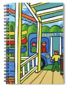 Paddle Taxi - Rum 138 Spiral Notebook