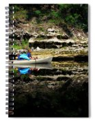 Paddle The Suwannee Spiral Notebook