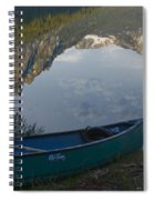 Paddle To The Mountains Spiral Notebook
