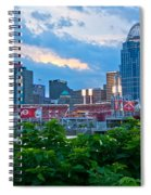 Paddle Wheel And Stadium Spiral Notebook