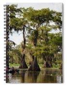 Paddling In The Bayou Spiral Notebook