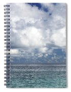 Paddling In The Open Spiral Notebook