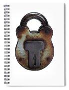 Padlock Spiral Notebook