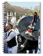 Padstow Blue Oss And Supporters Spiral Notebook