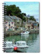 Padstow Harbour - P4a16021 Spiral Notebook
