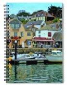 Padstow Harbour Slipway - P4a16023 Spiral Notebook