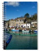 Padstow Harbour  Spiral Notebook