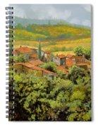 Paesaggio Toscano Spiral Notebook
