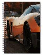 Pagani Huayra - Monza Spiral Notebook