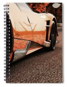 Pagani Huayra - Monza In Autumn Spiral Notebook