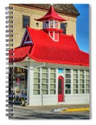 Pagoda Gas Station Spiral Notebook