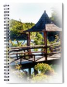 Pagoda Over The Lake Spiral Notebook