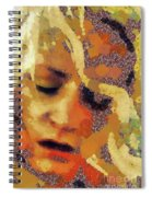 Pain By Mary Bassett Spiral Notebook