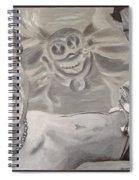 Pain Spiral Notebook