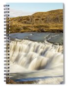 Paine River Waterfall Spiral Notebook