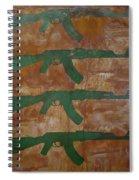 Paint 1 Spiral Notebook