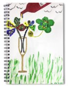 Paint By Wine Spiral Notebook