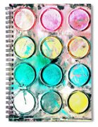 Paint Colors Spiral Notebook