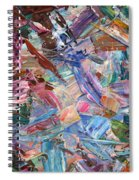 Paint Number 42-b Spiral Notebook