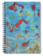 Paint Number 47 Spiral Notebook