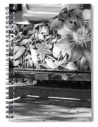 Painted Bench Spiral Notebook