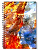 Painted Branches Abstract 1 Spiral Notebook