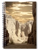 Painted Canyon Trail Spiral Notebook