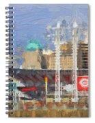 Painted Cincinnati Ohio Spiral Notebook