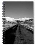 Painted Desert Road #2 Spiral Notebook